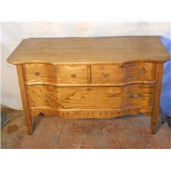 Small Antique 3 Drawer Dresser