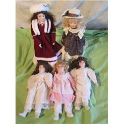 Musical Porcelain Doll, Porcelain Doll W/ Pretty