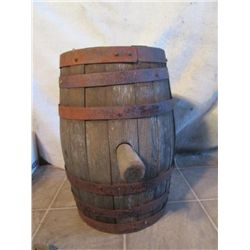 Small Wine Barrel With Cork