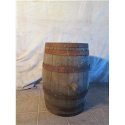 Medium Whiskey Barrel With Cork