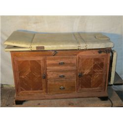 Antique Gynecologist Table