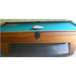 """ American Billiards"" Table From Long Beach, Ca"