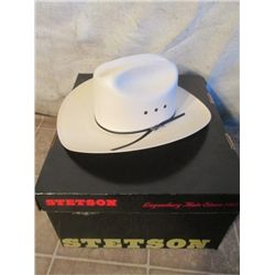 Size 7 Stetson Cowboy Hat With Box