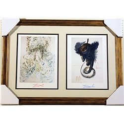 Salvador Dali Original signed woodblocks
