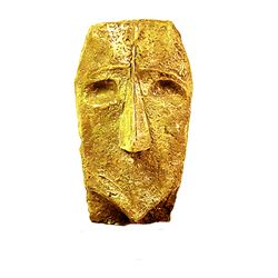 Max Ernst  24k Gold Original, limited Edition Bronze - HEAD