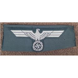 NAZI M43 CAP EAGLE ORIGINAL NOT ISSUED