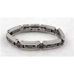RUSSELL SIMMONS BLACK DIAMOND MANS BRACELET