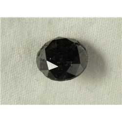 2.78 Carat Loose Black Diamond Opaque-A! Clarity