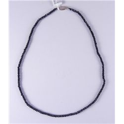 Black Spinel 53.27 Carat Necklace