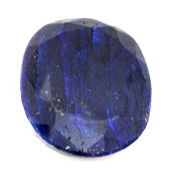 Natural 90.7 ctw African Sapphire Oval Stone