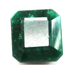 African Emerald Loose Gems 243.88ctw Square Cut