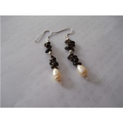 27.00 ctw Semi Precious Earrings .925 Sterling