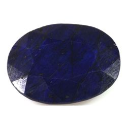 Natural African Sapphire Loose 27.3ctw Oval Cut