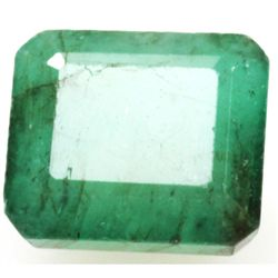 Natural 5.53ctw Emerald Emerald Cut Stone