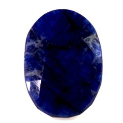 Natural African Sapphire Loose 27.25ctw Oval Cut