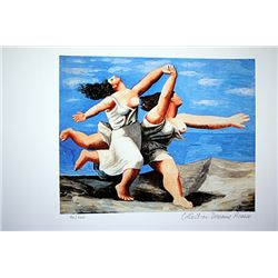 Picasso Limited Edition - Two Women On The Beach - from Collection Domaine Picasso