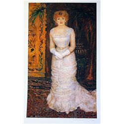 Limited Edition Renoir- Portrait of Jeanne Saurary - Collection Domaine Renoir