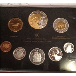 2008 CANADIAN SILVER PROOF SET