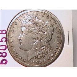 1884-S Morgan Dollar F15
