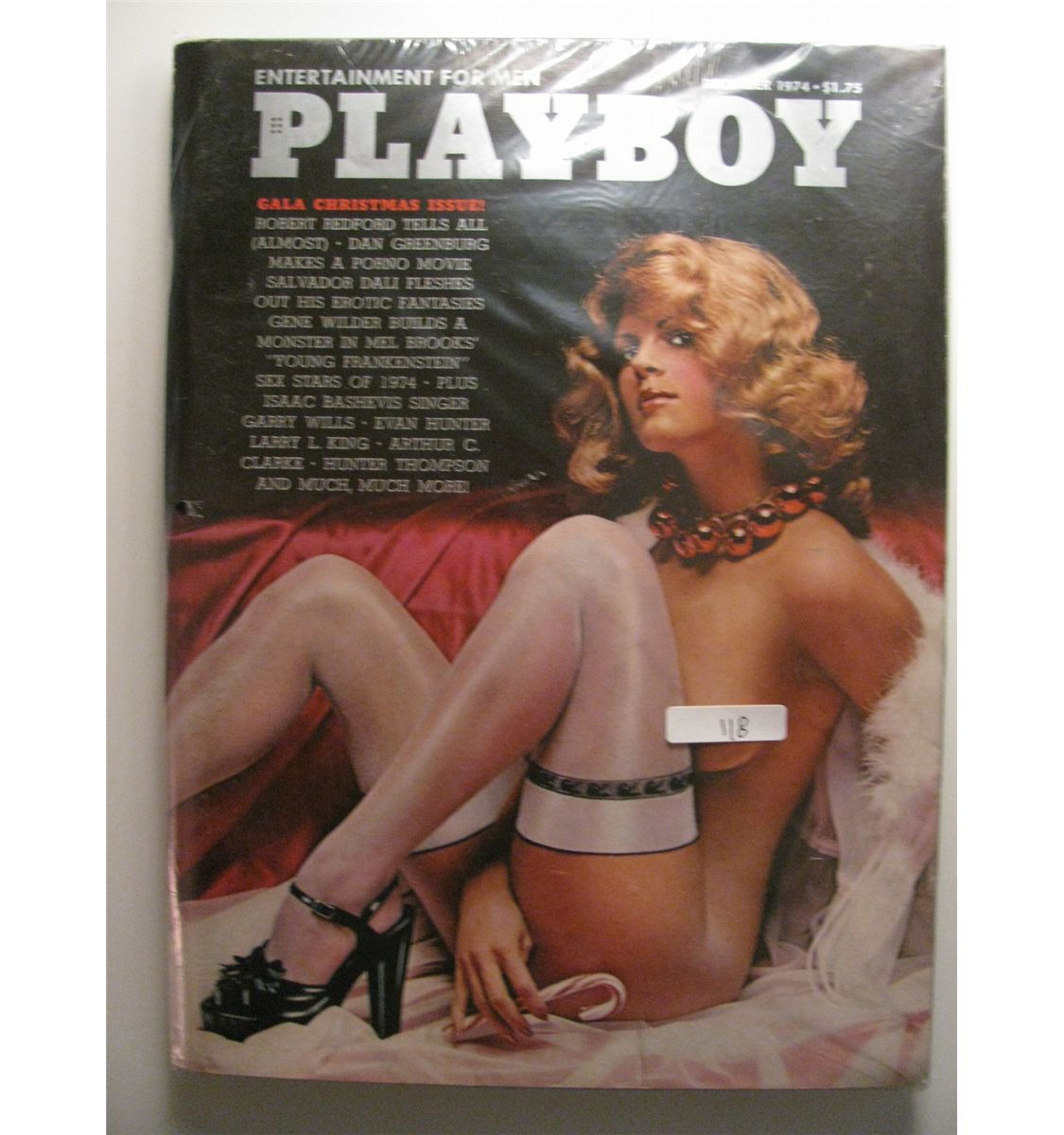 December 1974 Playboy; Gala Christmas issue