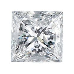 Certified Princess Diamond 0.53 Carat E, VVS2 GIA