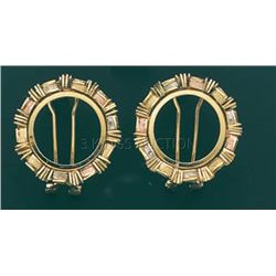 BOLLA COLLECTION Earring 7.5 grs 14kt 3tone Gold