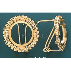 BOLA COLLECTION Earring 5.6 grs 14kt Y Gold