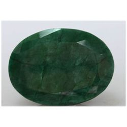 Natural 390.00 Ctw African Emerald Long Oval