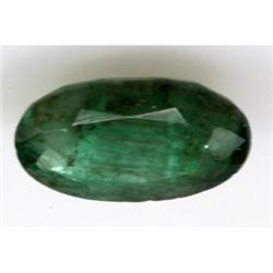 Natural 12.10 ctw African Emerald Oval