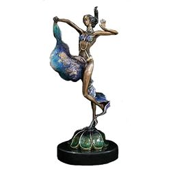 Exotic Dancer - Limited Edition Bronze by Sergey