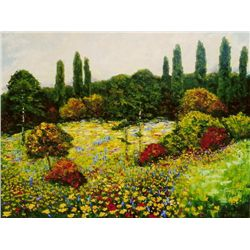 Wanda Kippenbrock, Wildflower Meadow, Oil on Canvas