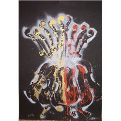 Arman, Violins, Signed Lithograph