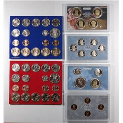 2009 U.S. 2009 PROOF AND MINT SETS, ORIGINAL MINT PACKAGING