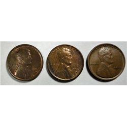 1916PD  Lincoln pennys  Nice  AU's