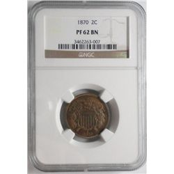 1870  proof 2 center  NGCPF62BN