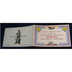 "71. World War II ""Postal Savings Plan for the Purchase of"