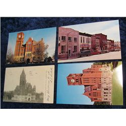 75. (4) Different Jefferson County Iowa Post Cards. At least one dates