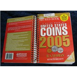 "85. ""2005"" The Official Red Book ""A Guide Book of U.S. Coins."