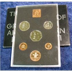 94. 1971 Decimal Coinage of Great Britain & Northern Ireland Proof Set.