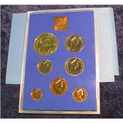 95. 1977 Coinage of Great Britain & Northern Ireland Proof Set. Original as issued.