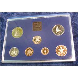 96. 1982 Coinage of Great Britain & Northern Ireland Proof Set. Original as issued.