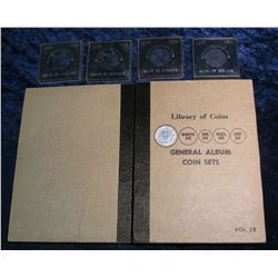 "97. Used ""Library of Coins General Album Coin Sets"" (no coins)"