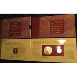 681. The Thomas Jefferson Coinage and Currency Set.
