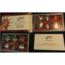 685. 2005 S U.S. Silver Proof Set. Original as issued.