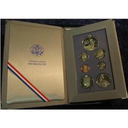 688. 1986 S U.S. Silver Prestige Proof Set. Original as issued.