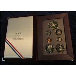 690. 1992 S U.S. Silver Prestige Proof Set. Original as issued.