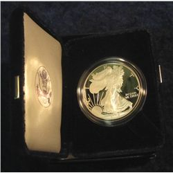 694. 2006 W Proof Silver American Eagle Dollar One Ounce.