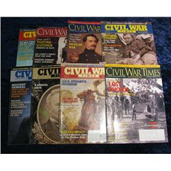 1252. (8) Civil War Times Magazines.