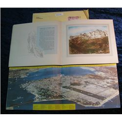 1354. Old Travel Brochures, San Francisco & Rocky Mountain Views.