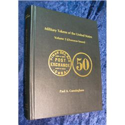 1355. Hard Bound Book Military Tokens of the United States 1998